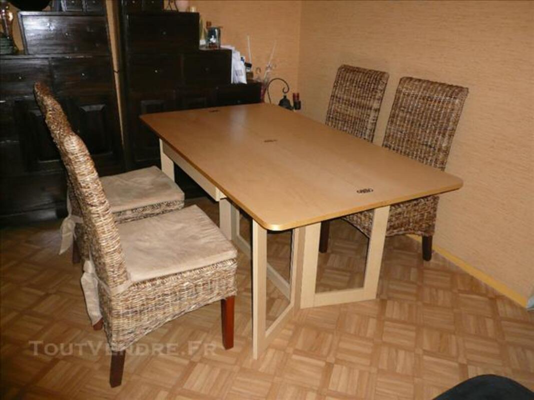 Table Pliante Console Ikea 4 Chaises Bananier Touffreville Sur Eu 76910