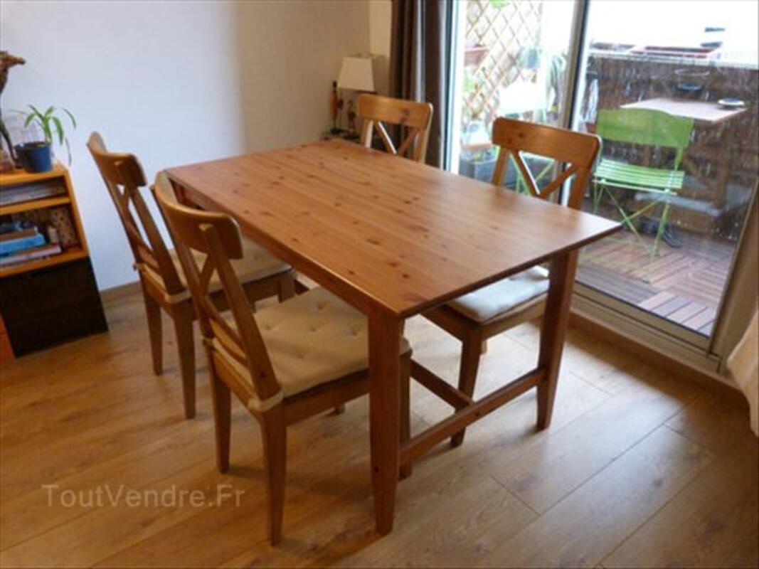 Table Salle à Manger Leksvik Chaises Ingolf Ikea Chirols 07380