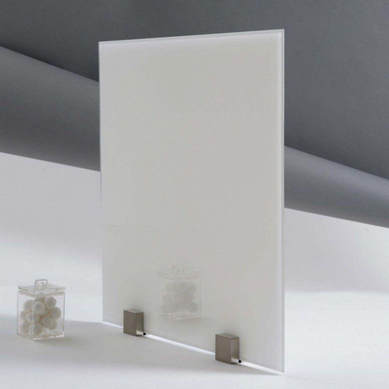 verre trempe laque blanc epaisseur 6 mm