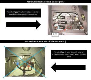 7 Pin Towbar Wiring Kit Vauxhall Astra H Estate 0410