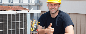 HVAC Contractor thumbs up 1