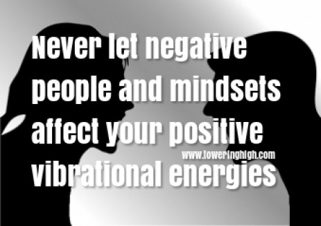 look past other people's negative opinion of you