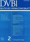 Deutsches Verwaltungsblatt DVBl.