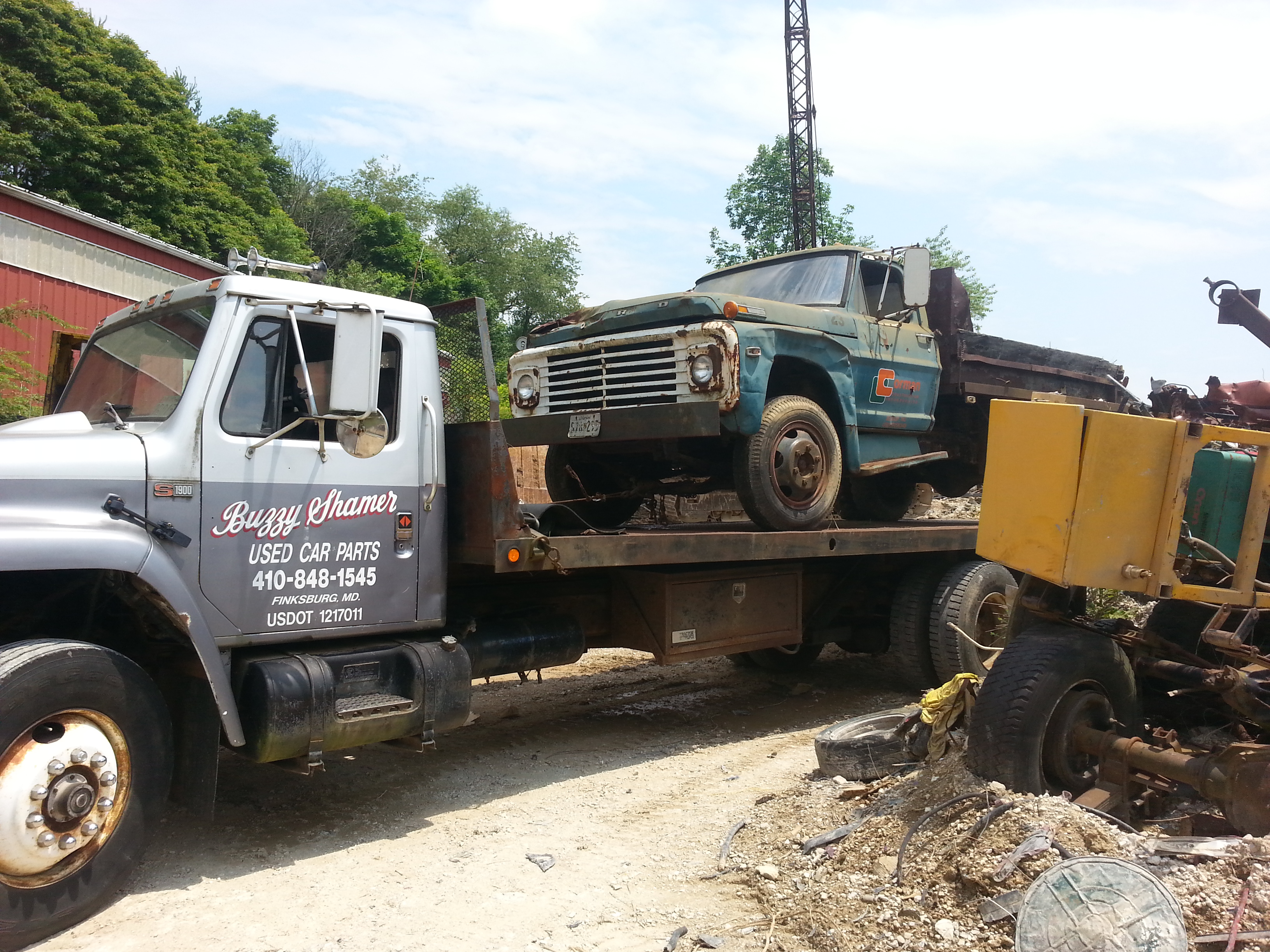 Used Car Parts - Carroll County Towing, Car & Heavy Trucks ...