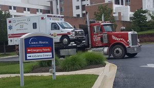 tow truck services ambulance, heavy duty truck westminster md