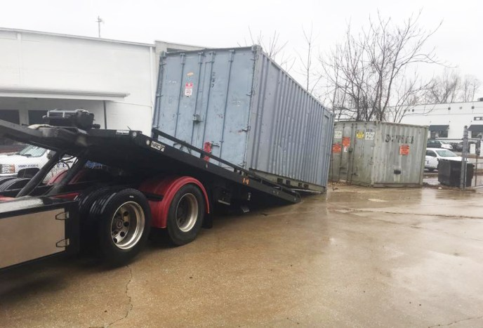 container transportation to MD, OH, NJ, NY, PA, and more. We haul containers.