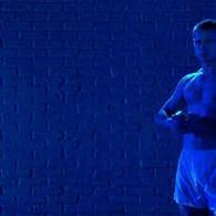 Brad Pitt's Blue Wet Dream