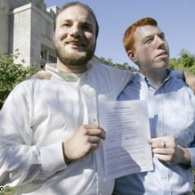 Two Men Married in Iowa's First Same-Sex Marriage