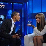 Barack Obama Gazes into Tyra Banks' Crystal Ball