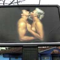 Azis Billboard Too Hot for Bulgarian Authorities