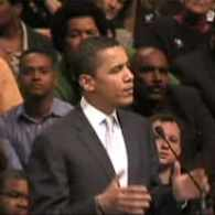Barack Obama Tells Crowd that Homophobia is Not Christian
