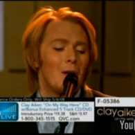 Clay Aiken Cries from the Closet on QVC?