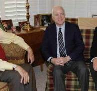 McCain Prays For Victory, Clark Shoots Him Down