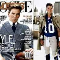 A Moussed-Up Eli Manning Plays Fashion Model on <i>Men's Vogue</i>
