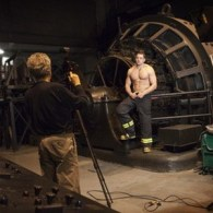 Shirtless NYC Firefighter Ready for His Close-up