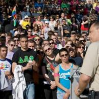 Watch: 1,000 March Against Anti-Gay Hate Crime in Austin, Texas