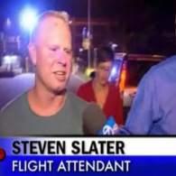 Watch: JetBlue Flight Attendant Steven Slater's First Interview