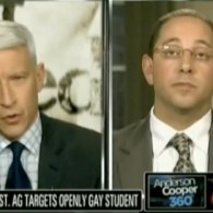 Andrew Shirvell Attempts To Explain Anti-Gay Blog to Anderson Cooper, Fails To Justify Bigotry