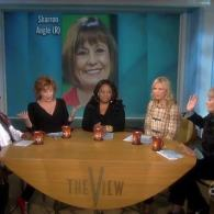 Watch: Sharron Angle Sends Joy Behar Hate Flowers
