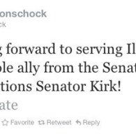 Schock Welcomes Kirk to Congress