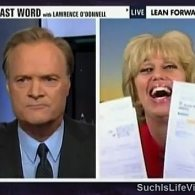 Watch: Lawrence O'Donnell Goes Ballistic, Kicks Nutty Birther <br>Orly Taitz Off His Show