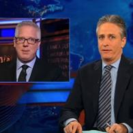 Watch: Jon Stewart Rips FOX News Hypocrisy in Rap Segment Response to Common 'Controversy'