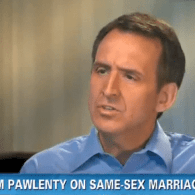 Tim Pawlenty: <br>Marriage Between A Man And A Woman Should Be Elevated