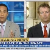 CNN's Don Lemon Battles Rand Paul On Debt-Ceiling 'Talking Points'