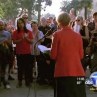 Hundreds Rally Over String of Anti-Gay Attacks in Long Beach, CA: VIDEO