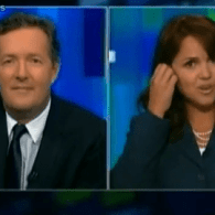 Christine O'Donnell Walks Off 'Piers Morgan Tonight' After Gay Nup Inquiry: Video