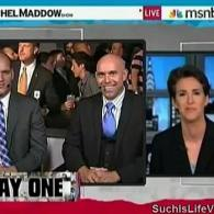 Rachel Maddow Celebrates the End of 'DADT' with Service Members: VIDEO