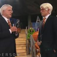 Anderson Cooper Meets His Halloween Costume, Phil Donahue: VIDEO
