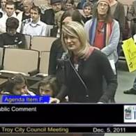 Homophobic Troy, MI Mayor Janice Daniels Gets a Look at a Gay Family: VIDEO