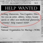 NOM Actively Sought Out 'Glamorous Non-Intelligent Celebrities' to Sell Its Anti-Gay Message