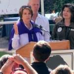 Congresswoman Nancy Pelosi Honored at AIDS Memorial Grove: VIDEO