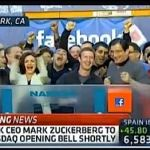 Mark Zuckerberg Rings NASDAQ Bell as Facebook Goes Public: VIDEO