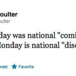 Ann Coulter Announces 'Disown Your Son' (for Being Gay) Day
