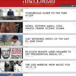 Towleroad Touch Editions for iPad/iPhone (BETA): Easy Access to Our Mobile Version