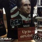 Major Sale: Mitt Romney Campaign Merchandise