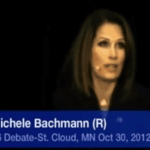 Audience Laughs At Michele Bachmann's 'Political Speech' Denial: VIDEO