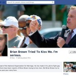 Has NOM's Brian Brown Tried to Kiss You?