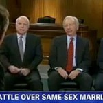 Lindsey Graham, Joe Lieberman, and John McCain Sound Off on Same-Sex Marriage: VIDEO