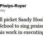 Westboro Baptist Plans Sandy Hook Picket