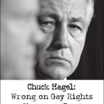 Log Cabin Republicans Hit Chuck Hagel In 'NY Times' Ad: PHOTO