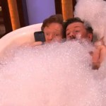 Ricky Gervais and Conan Take a Bubble Bath Together: VIDEO