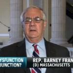 Barney Frank Wants to Return to Washington as Senator: VIDEO