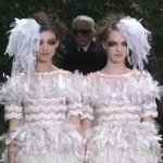 Karl Lagerfeld Sends Lesbian Brides Down the Runway: VIDEO