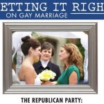 Log Cabin Republicans Take Out Full Page Ad in 'The Hill' Urging GOP to Support Gay Marriage. Oppose DOMA