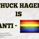 Anonymous Group Runs New 'Anti-Gay' Chuck Hagel Attack Ad: VIDEO