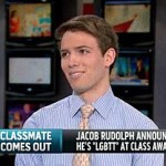 NJ H.S. Senior Jacob Rudolph Talks to Thomas Roberts About His Viral Coming Out, Identifying as 'LGBT': VIDEO